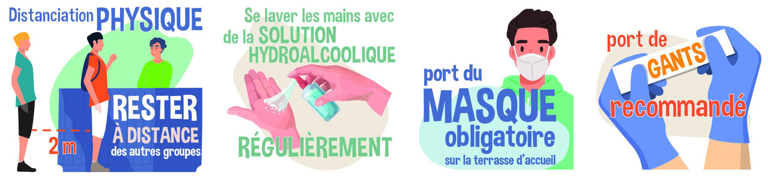 Mesure COVID Parc Oyoxygène